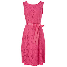 Buy Precis Petite Lace Prom Dress, Pink Online at johnlewis.com