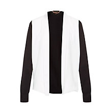 Buy Ted Baker Celma Monochrome Woven Front Wrap, Black/White Online at johnlewis.com