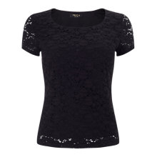 Buy Precis Petite Jasmin Lace Jersey Top Online at johnlewis.com