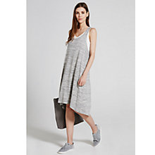 Buy Hygge by Mint Velvet Layered Jersey Dress, Grey Online at johnlewis.com