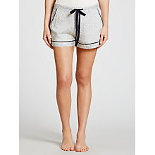 Buy Cyberjammies Peony Delight Geo Pyjama Shorts, White/Navy Online at johnlewis.com