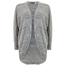Buy Hygge by Mint Velvet Cocoon Cardigan, Grey Marl Online at johnlewis.com