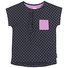 Buy Polarn O. Pyret Children's Pocket T-Shirt, Blue Online at johnlewis.com