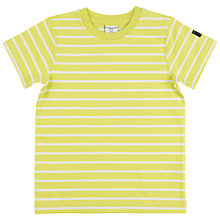 Buy Polarn O. Pyret Children's Stripe T-Shirt Online at johnlewis.com