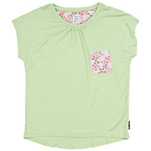 Buy Polarn O. Pyret Children's Pocket T-Shirt, Green Online at johnlewis.com
