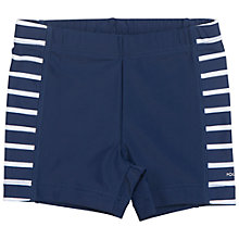 Buy Polarn O. Pyret Baby Swim Trunks, Blue Online at johnlewis.com