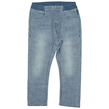 Buy Polarn O. Pyret Children's Pull-On Trousers, Blue Online at johnlewis.com