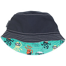 Buy Polarn O. Pyret Baby Reversible Sun Hat, Blue/Green Online at johnlewis.com