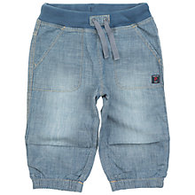 Buy Polarn O. Pyret Children's Cotton Shorts, Blue Online at johnlewis.com