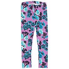 Buy Polarn O. Pyret Children's Flower Print Leggings Online at johnlewis.com