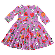 Buy Polarn O. Pyret Children's Floral Dress Online at johnlewis.com