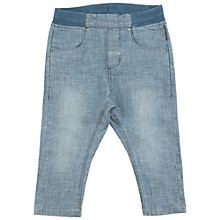 Buy Polarn O. Pyret Baby Pull-On Trousers, Blue Online at johnlewis.com