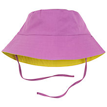 Buy Polarn O. Pyret Baby Reversible Sun Hat Online at johnlewis.com