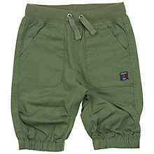 Buy Polarn O. Pyret Baby Cotton Shorts, Green Online at johnlewis.com