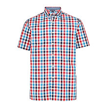 Buy Tommy Hilfiger Eddy Shirt, Pink Check Online at johnlewis.com
