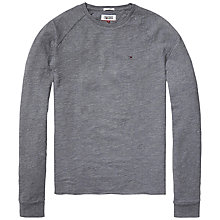 Buy Hilfiger Denim Crew Neck Long Sleeve Top Online at johnlewis.com
