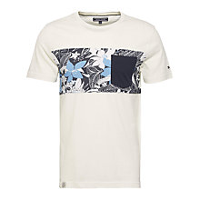 Buy Tommy Hilfiger Damian Pocket Tee, Snow White Online at johnlewis.com