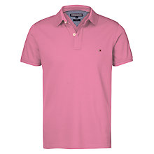 Buy Tommy Hilfiger Summer Knit Polo Shirt Online at johnlewis.com