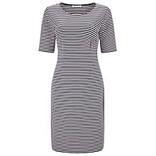 Buy Precis Petite Stripe Dress, Blue/Multi Online at johnlewis.com