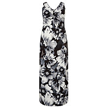 Buy Windsmoor Floral Maxi Dress, Black/Multi Online at johnlewis.com