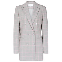 Buy Reiss Marina Fashion Check Blazer Online at johnlewis.com