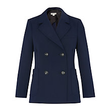 Buy Whistles Double Breasted Blazer, Navy Online at johnlewis.com
