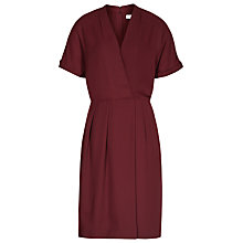 Buy Reiss Camden Wrap Dress, Juniper Online at johnlewis.com