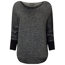 Buy Phase Eight Elaina Jumper, Black Online at johnlewis.com