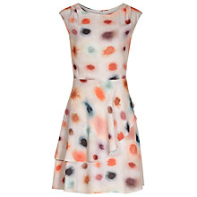 Buy Reiss Lora Printed Dress, Multi Online at johnlewis.com