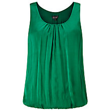 Buy Phase Eight Lua Silk Blouse, Emerald Online at johnlewis.com