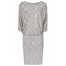 Buy Reiss Sabra Knitted Spacedye Dress, Grey/Blue Online at johnlewis.com