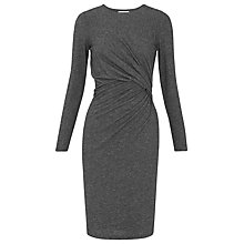 Buy Whistles Isabella Jersey Bodycon Dress, Grey Marl Online at johnlewis.com