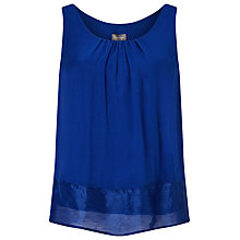 Buy Phase Eight Mai Sleeveless Blouse, Marina Blue Online at johnlewis.com