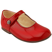 Buy Start-rite Children's Caty Mary-Jane Shoes, Red Patent Online at johnlewis.com