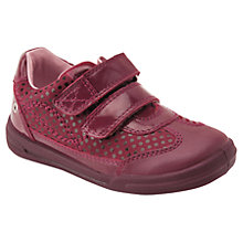 Buy Start-rite Junior Flexy Soft Turin Shoes, Wine Online at johnlewis.com