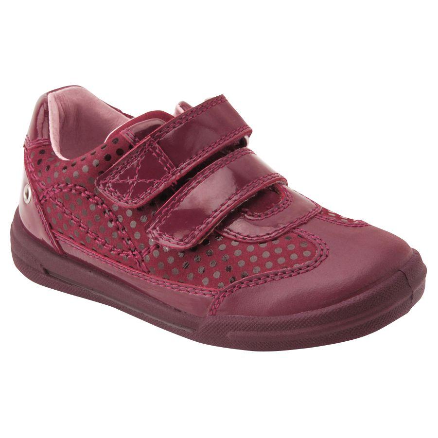Start-Rite Start-rite Junior Flexy Soft Turin Shoes, Wine