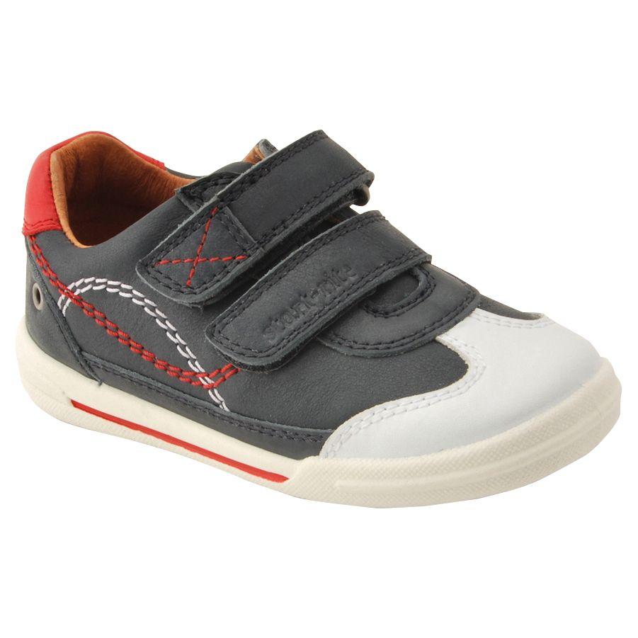 Start-Rite Start-rite Children's Turin Rip-Tape Walking Shoes, Navy