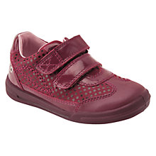 Buy Start-rite Children's Flexy Soft Turin Shoes, Wine Online at johnlewis.com