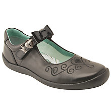 Buy Start-rite Infant Princess Elza Mary Jane School Shoes, Black Online at johnlewis.com