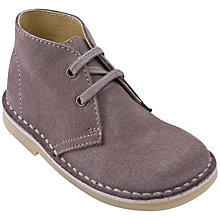 Buy Start-rite Children's Suede Lace Shoes, Cinder Online at johnlewis.com