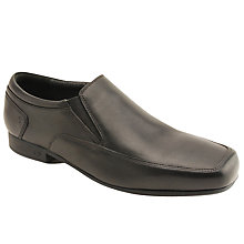 Buy Start-rite Children's Tyler Slip On Shoes, Black Online at johnlewis.com