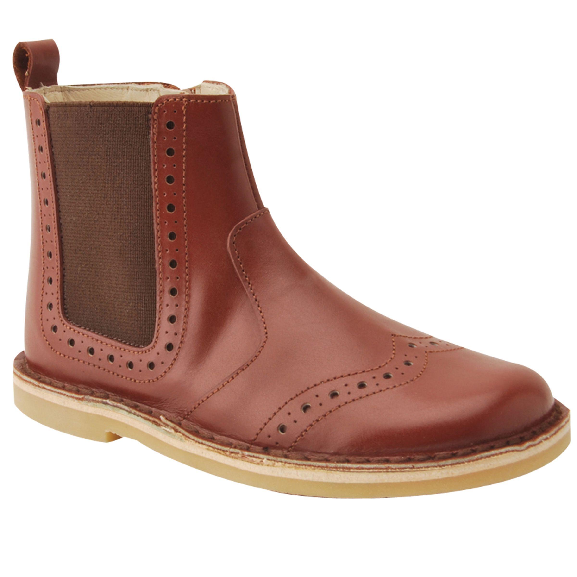 Start-Rite Start-rite Children's Bugsy Leather Boots, Tan