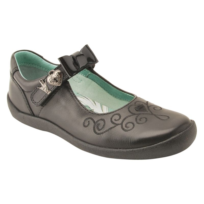 Start-Rite Start-rite Princess Elza Mary Jane School Shoes, Black