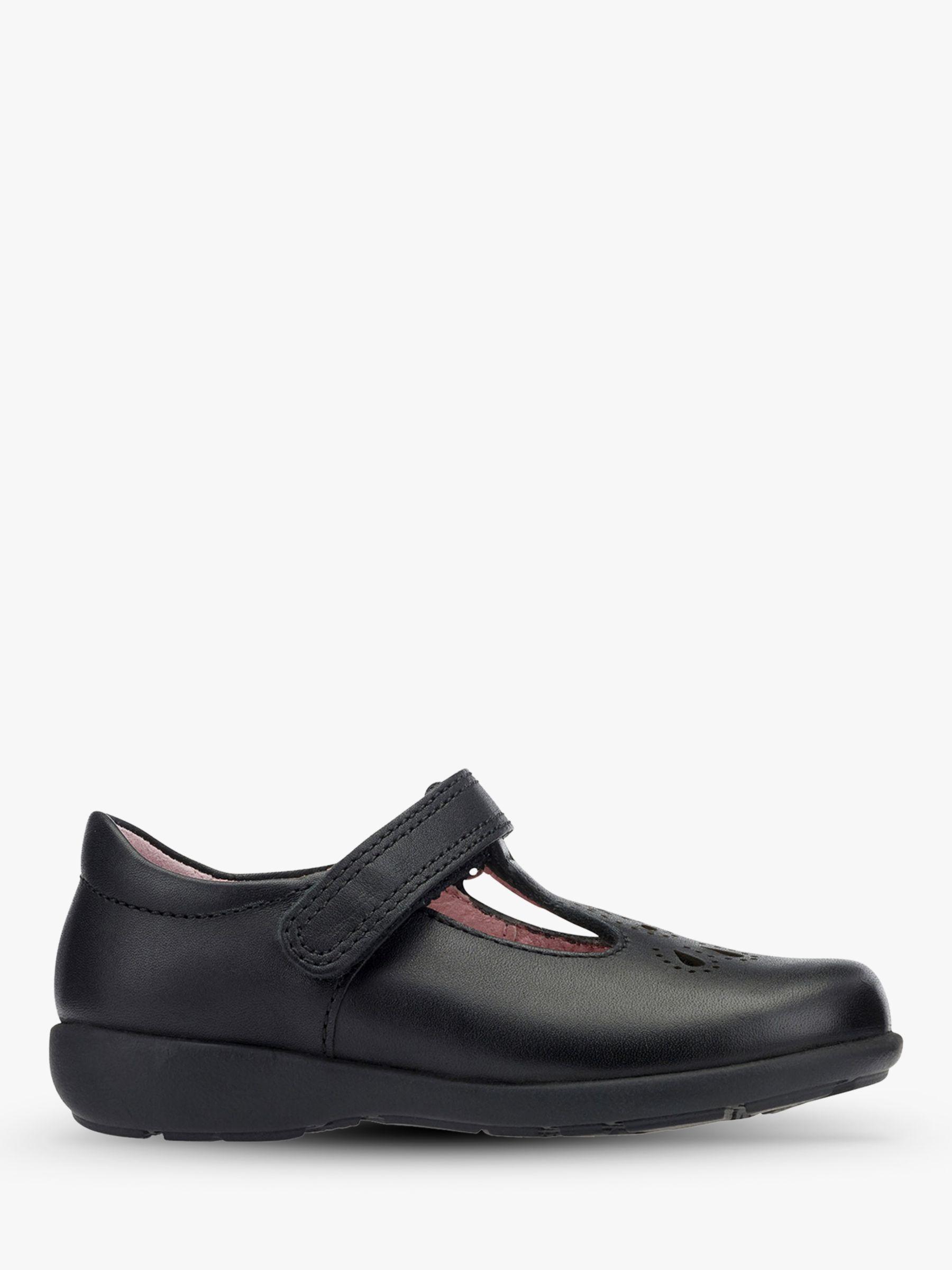 Start-Rite Start-rite Children's Daisy May Leather Shoes, Black