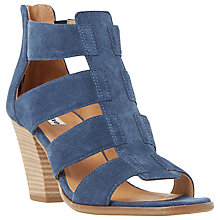 Buy Dune Jinnie Block Heeled Multi Strap Sandals Online at johnlewis.com