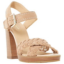 Buy Dune Jolee Block Heeled Sandals Online at johnlewis.com