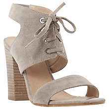 Buy Dune Irana Block Heeled Lace Up Sandals Online at johnlewis.com