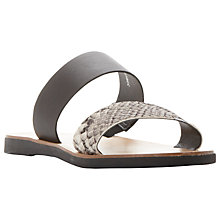 Buy Dune London Slip On Sandals Online at johnlewis.com