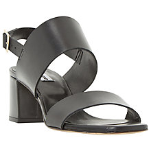 Buy Dune Jester Block Heeled Sandals Online at johnlewis.com