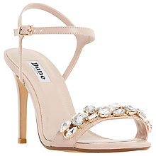 Buy Dune Mya Jewel Embellished High Heel Sandals Online at johnlewis.com